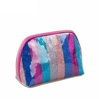 Waterproof Fashion Storage Bag Brand Cosmetic Bags Neceser Portable Make Up Bag Women PU Pouch Travel