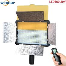 Godox LED500LRW 5600K 504LED Video Continuous Light For Camcorder DSLR Camera DV