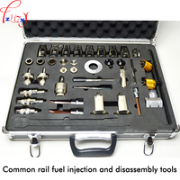38pcs Common rail injector disassembly tool+Aluminum box ,Full set of common rail injector repair tools