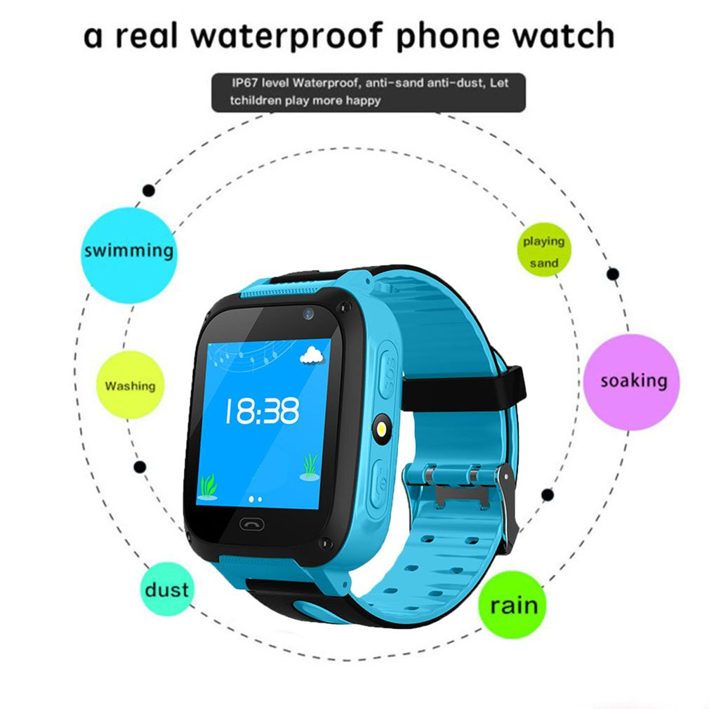 Children Baby V6 Smart Watch With Camera Anti Lost Monitor SOS Call Waterproof Children Watch For IOS And Android Phone