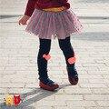 AD Adorável Dots 3T-7 Meninas Saias Plissadas Princesa Bebé Crianças Tutu Roupas Saia Crianças Primavera Roupas de Outono saia faldas