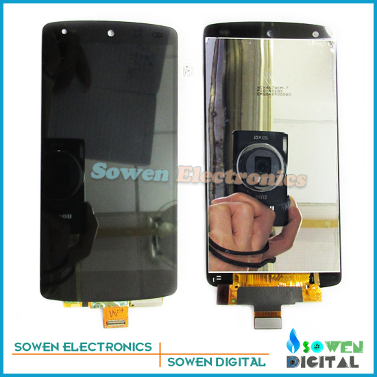 for LG Nexus 5 D820 D821 LCD display screen with touch screen panel digitizer assembly full set, LCD new lcd touch screen digitizer with frame assembly for lg google nexus 5 d820 d821 free shipping