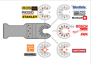 Image 3 - 11 pcs מהיר שינוי נדנוד רב כלי אביזרי להב מסור, טוב מחיר ומהיר devliery, לפיין כוח כלי, מתכת חיתוך