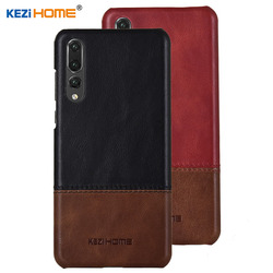 На Алиэкспресс купить чехол для смартфона case for huawei p20 pro kezihome luxury hit color genuine leather hard back cover capa for huawei p20 pro 6.1'' phone cases