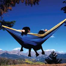 Hot-Selling Lightweight Indoor and Outdoor Nylon Parachute Hammock