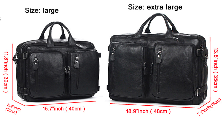 4use 100 Cowhide Genuine Leather Men S Travel Bag Real Duffle Luggage Carry On Overnight Handbag Tote Black