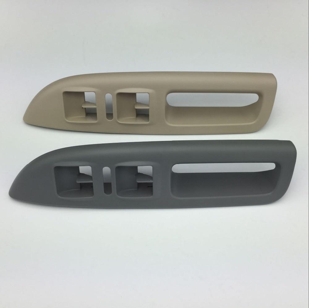 for Skoda Octavia Left Master Window Switch Bracket Panel Driver Side Door Interior Handle Gray Beige Cream Color 1Z1 867 171 D цена 2017