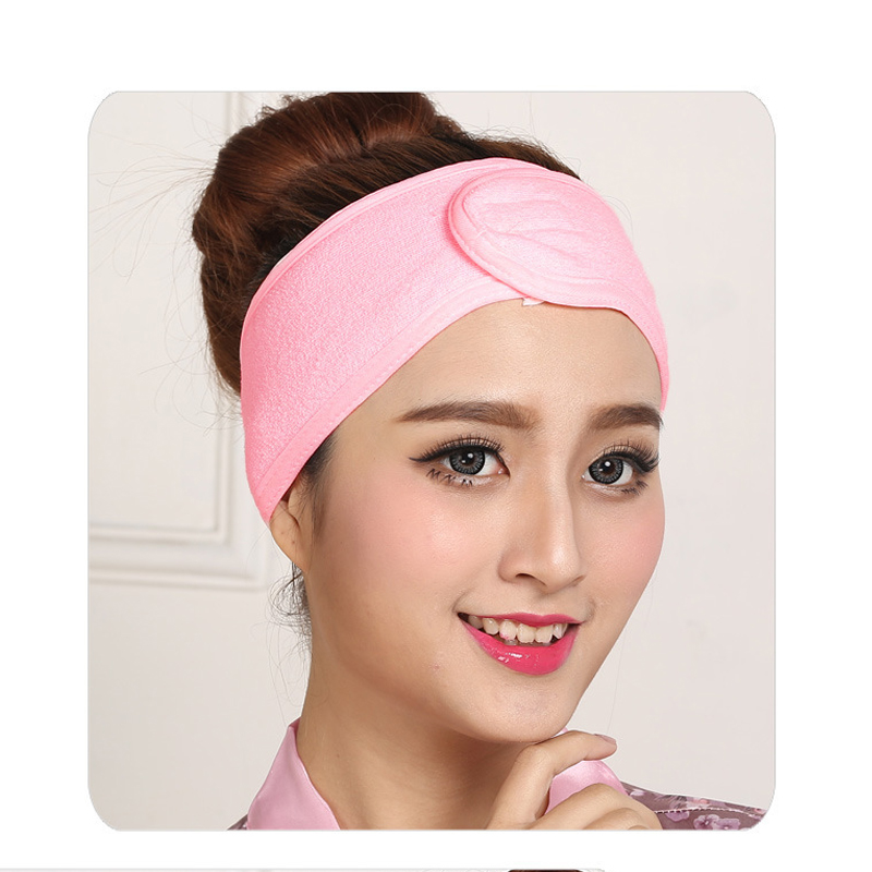 1 pcs Wash Face Makeup SPA Women Sweat Elastic Soft Headbands Fashion Bath Sweat Makeup wicking beauty salon special tools tatt 2