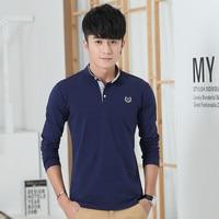 Летняя футболка с короткими рукавами, Мужская Корейская версия рубашки на подкладке, Простая рубашка для студентов