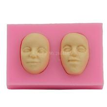 Двухстороннее Силиконовое мыло для помадки 3d желейные конфеты