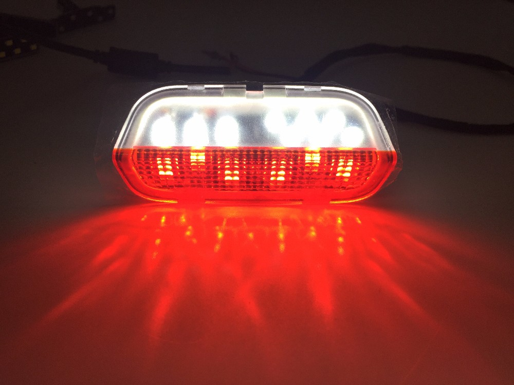 DOOR WARNING LED LIGHT FOR VW GOLF 5 6 JETTA MK5 MK6 CC TIGUAN PASSAT B6 B7 CC WITH CABLE in Signal Lamp from Automobiles Motorcycles