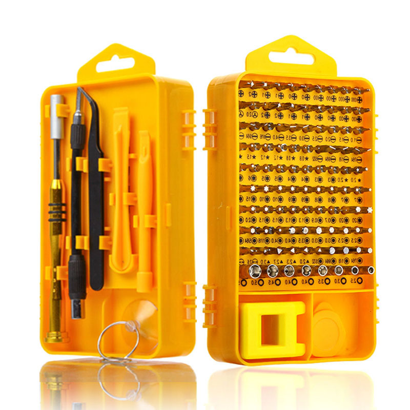 108 in 1 Schraubendreher Sets Multi-funktion Computer Reparatur Tool Kit Ätherisches Werkzeuge Digitale Mobile Handy Tablet PC reparatur