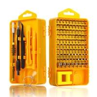 108 in 1 Screwdriver Sets Multi function Computer Repair Tool Kit Essential Tools Digital Mobile Cell Phone Tablet PC Repair