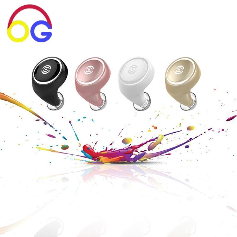 OGV Mini Auriculares Bluetooth Inalámbricos con Mic Hansfree - Audio y video portátil