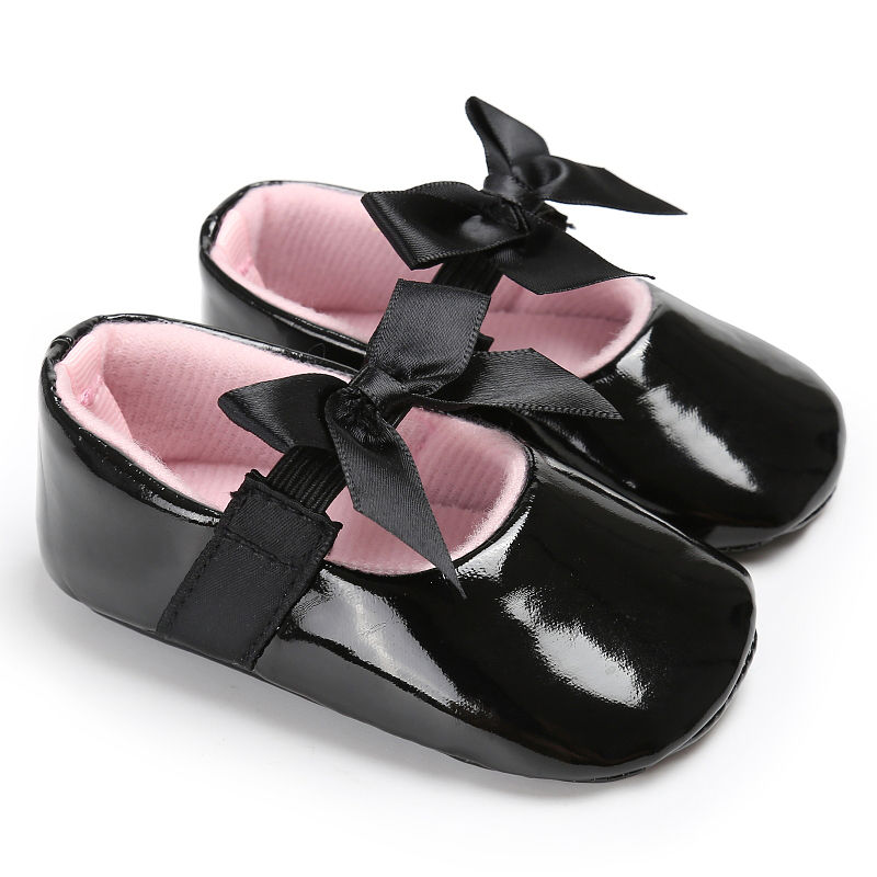 WONBO-Newborn-Baby-Girls-Princess-Shoes-Crib-Bebe-Infant-Toddler-Kids-First-Walkers-Patent-leather-Mary-Jane-Big-Bow-Solid-Shoe-1