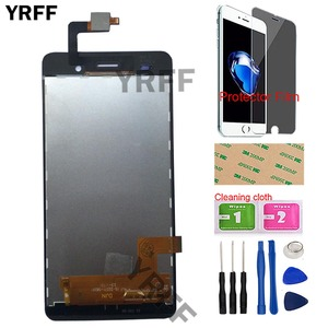 Image 3 - 5 Mobile Phone LCD Display For BQ BQS 5020 BQS 5020 Strike LCD Display Touch Screen Complete Assembly Tools Protector Film