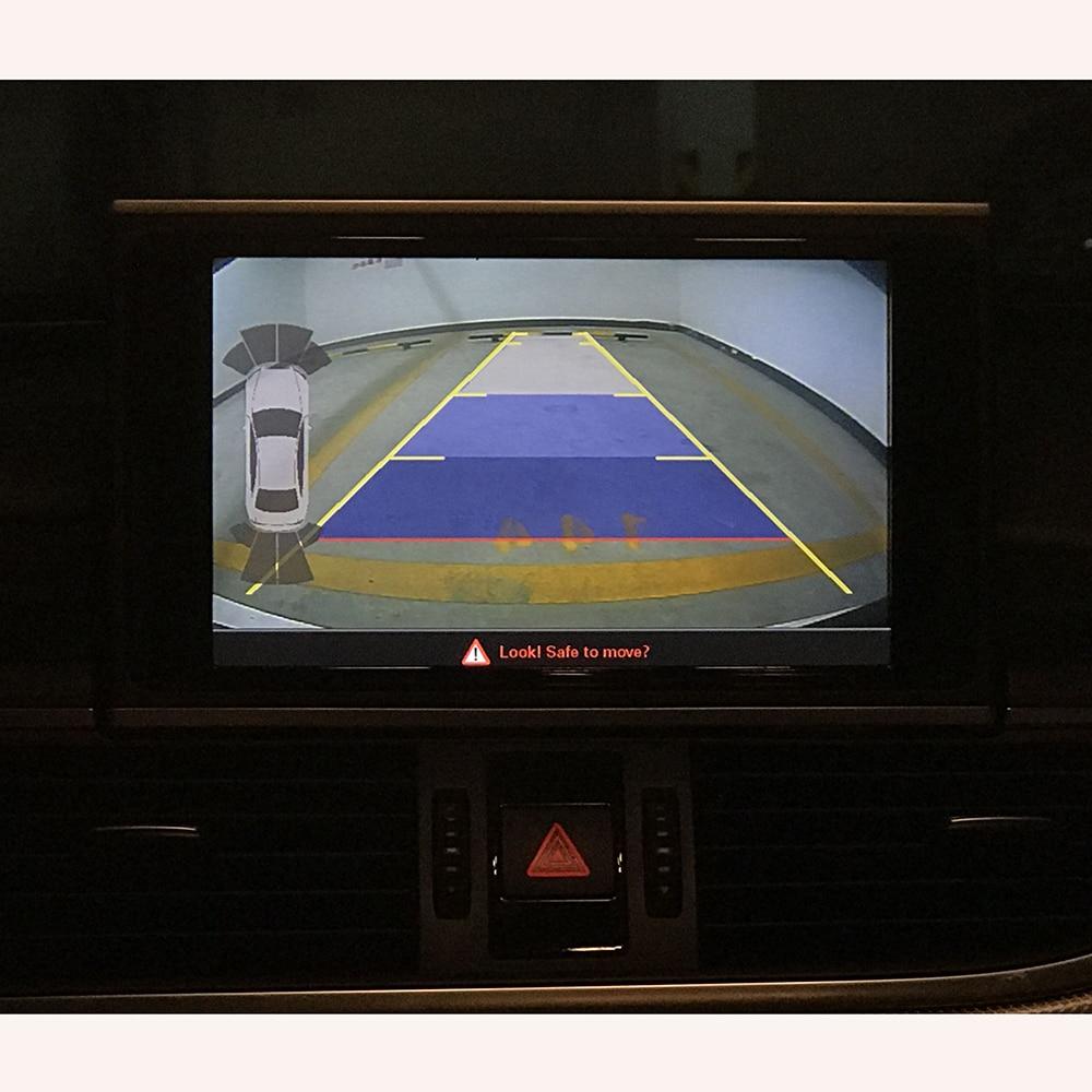2017 A4 A6 Q7 сзади Камера Точная парковка Руководство Системы два видео Вход автомобиля видео Интерфейс для Audi