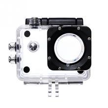 Nowa zewnętrzna kamera akcji sportowej Box Case wodoodporna obudowa do akcesoria do aparatu SJ4000 SJ4000 + SJ7000 SJCAM z czarna wersja