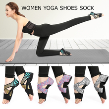 Yoga Sock Women Half Toe Grip Non-slip for Yoga Pilates Training Shoes Professional Indoor Yoga Shoes