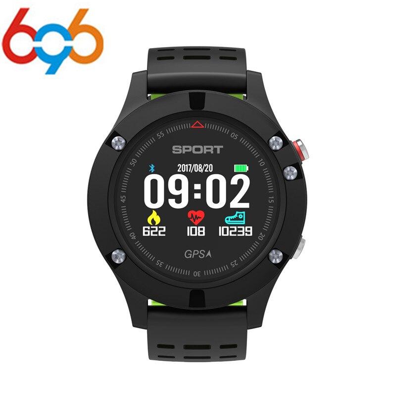 696 מס 1 F5 GPS שעון חכם MTK2503 ברומטר מד גובה מדחום Bluetooth 4.2 Smartwatch המכשירים ביש עבור IOS אנדרואיד