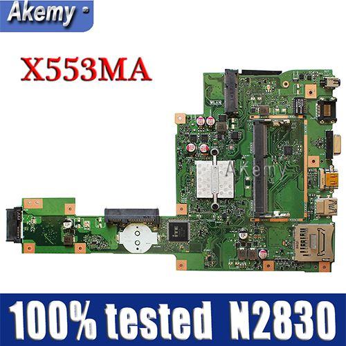 Amazoon  X553MA MAIN_BD._0M/N2830/AS For ASUS A553M X503M F503M X553MA X503M X553M F553M F553MA laptop motherboard 100% testedAmazoon  X553MA MAIN_BD._0M/N2830/AS For ASUS A553M X503M F503M X553MA X503M X553M F553M F553MA laptop motherboard 100% tested