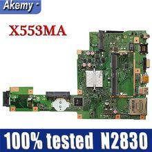 Amazoon X553MA MAIN_BD._0M/N2830/как для ASUS A553M X503M F503M X553MA X503M X553M F553M F553MA Материнская плата ноутбука 100% тестирование