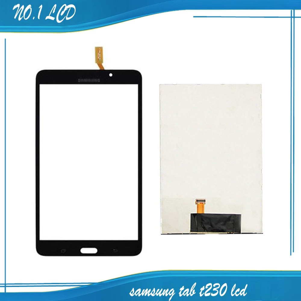 Black For Samsung Galaxy for Samsung Galaxy Tab 4 7.0 T230 Touch Screen +LCD Screen Free Shipping