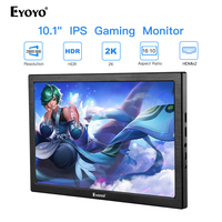 New 10 inch 2K Portable Computer Monitor PC HDMI PS3 PS4 Xbo x360 2560x1600 IPS LCD LED Display Monitor for Raspberry Pi