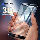3D Full Screen Tempered Glass For Meizu M5S M5C M5 M6 MX6 9H Protective Film For Meizu M5 M6 Note Pro 7 7 Plus 6 6S Glass Case