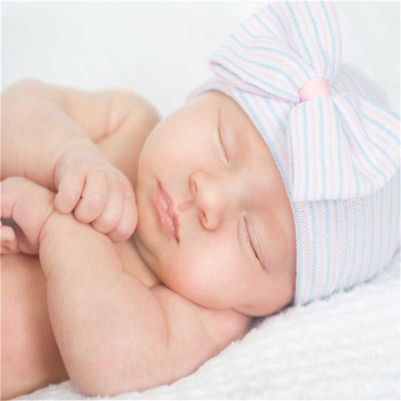 Warm เด็กทารกฤดูหนาวหมวกสำหรับหมวกเด็กถักเด็กหมวกเด็กทารกเด็กหญิงหมวก Casquette เด็ก Bonnet ทารกแรกเกิด photo Props