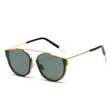 453f5478cc Mimiyou ojo de gato 2018 Wrap mujeres breves gafas Vintage moda mujer  anteojos gafas de sol hombres marca sombras oculos