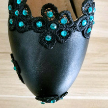 Wedding Shoes Woman Crystal Sexy High Heels Platform Luxury Peacock Feather Flower Green Pumps Rhinestone Bridal Party Shoes