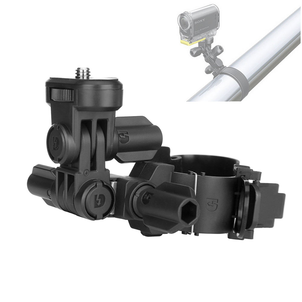Bike Roll Bar Mount for Sony Action Cam HDR AS15 AS20 AS100V AS200V as VCT-RBM1 AS300 HDR-AS20 HDR-AS15 HDR-AS30V HDR-AS50 image