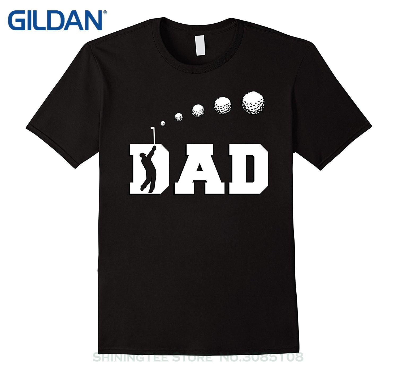 GILDAN Men Summer Short Sleeves T Shirt Golfer Dad Shirt Golfing Fathers Day Gift From Daughter Son