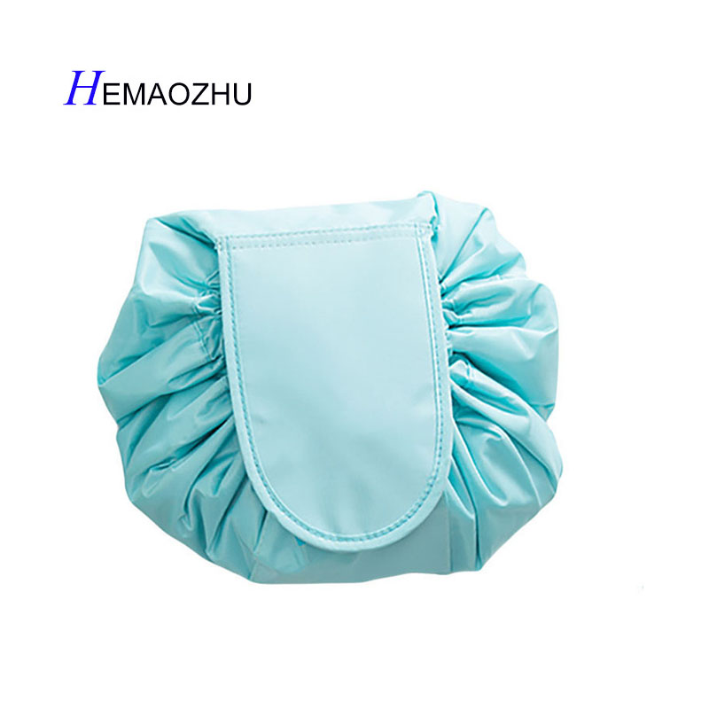 New Women bag Sports Portable Drawstring Beam Mouth Wash Bag Trip Goods Ladies Waterproof High Capacity