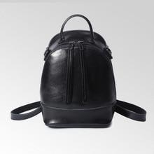 Для женщин 100% Пояса из натуральной кожи в стиле ретро рюкзак женщина корейский стиль женские из натуральной яловой кожи мини-школьный рюкзак для подростков Обувь для девочек