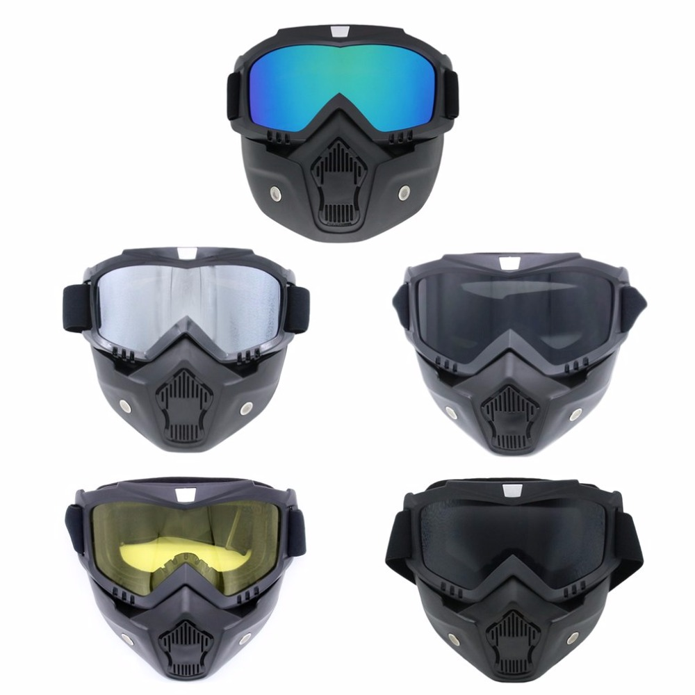Completely Framed Mask Skiing Glasses Cycling Glasses Windproof Goggles Breathable Glasses Removable Mask For Outdoor Sports