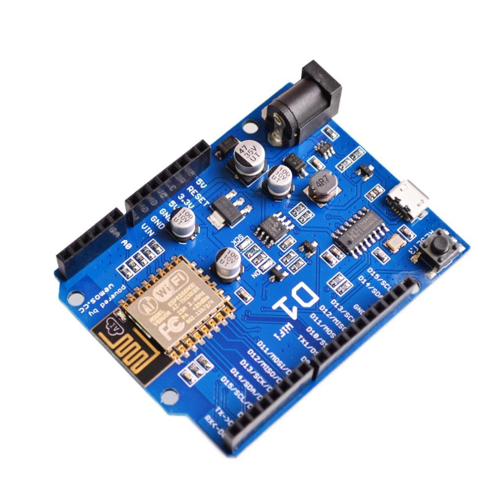 Learned Esp-12e For Wemos D1 Wifi Uno Shield Based Esp8266 Esp8266ex For Arduino Ide 3.3v/5v Support Ota Wireless Upload Active Components
