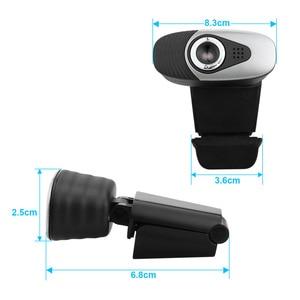 Image 3 - HXSJ USB 2.0 Digital Video Webcamera Webcam Web Câmera HD Pixels Com a Absorção de Som Microfone Mic Para Desktop PC Lap