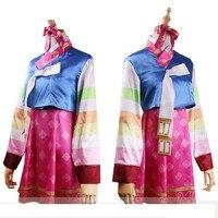 New DVA Costume Hot Game Over Watch OW Dress Woman Silk Korean Design Dva Dress Cosplay