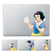 GOOYIYO - 2019 Laptop Partial Vinyl Decal Snow White Princess Skin Halloween Scary Sticker Cover For Macbook Air Pro Retina