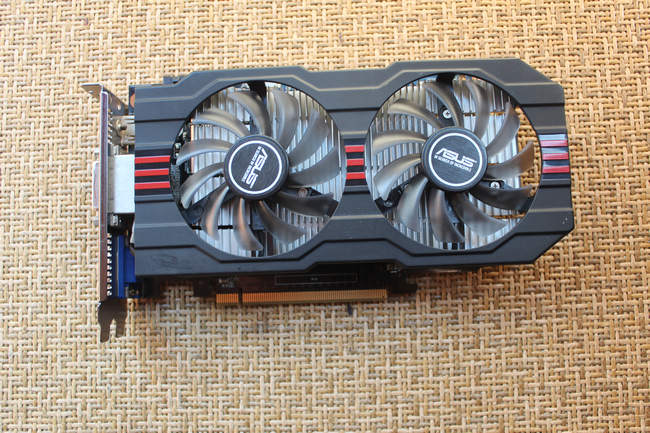 ASUS GTX750TI-OC-2GD5 2G DDR5 interface is complete onda gtx750ti 2gd5 2g graphics card