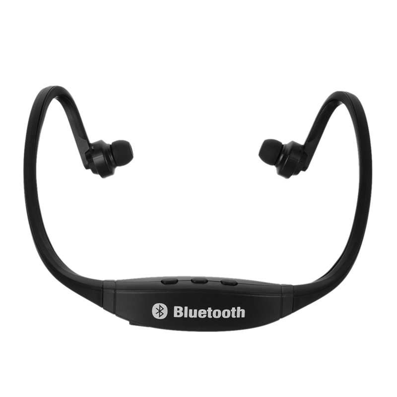 Rechargeable Sports Ear Hook Wireless Bluetooth Earphones MP3 Player Headset Earphone Support TF Card Radio Headphone Earpiece headphones blutooth 4 1 wireless foldable sport earphone microphone headset with tf card slot mp3 player music earphone earpiece