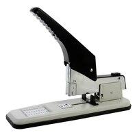 DELI 0399 Heavy Duty Stapler Large Thickening Labor saving Stapler Stapling 210 Sheets Books Thick Files Office Binding Supplies