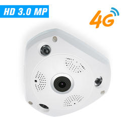 4G беспроводная ip-камера CCTV камера видеонаблюдения Onvif ip-камера s IR-CUT ночного видения со слотом для sim-карты и слотом для карт TF