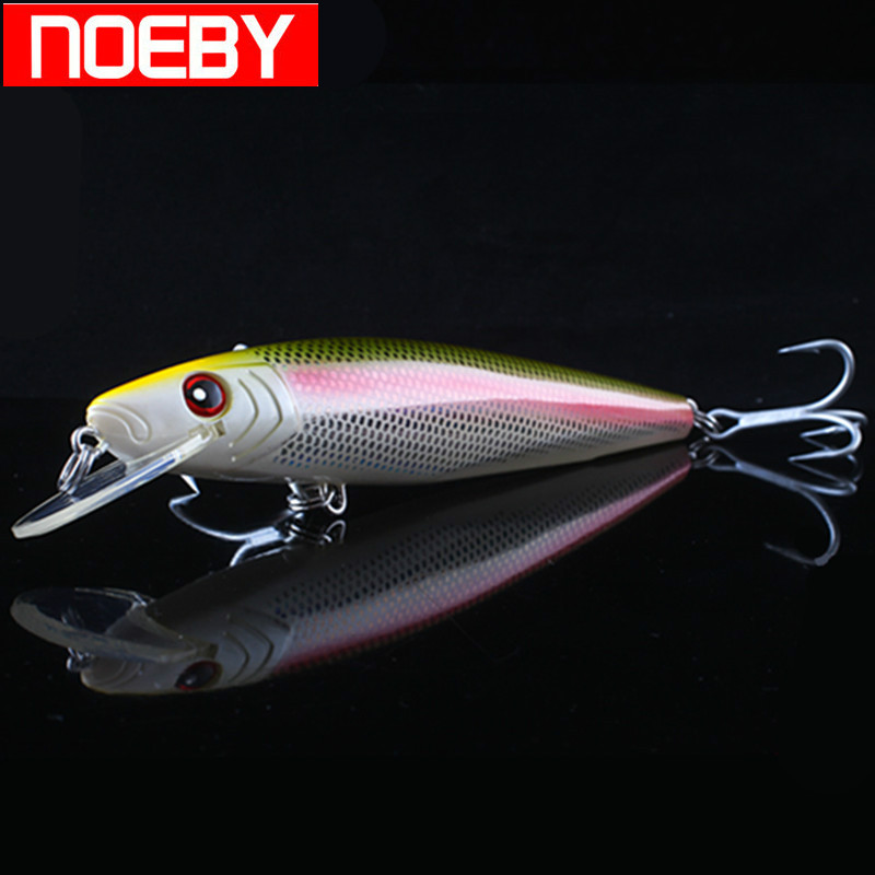 NOEBY NBL9416 Minnow Fishing Lure 180mm 67g Floating 0-2.5m France VMC Hooks Hard Baits Para Pesca Leurre Mer De Peche