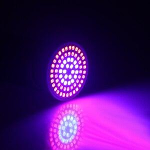 Image 5 - Lámpara de crecimiento LED E27/GU10/MR16 220 V Luz de planta 36 54 72 LED luces de crecimiento de espectro completo led rojo azul para la lámpara Fito de crecimiento de plantas
