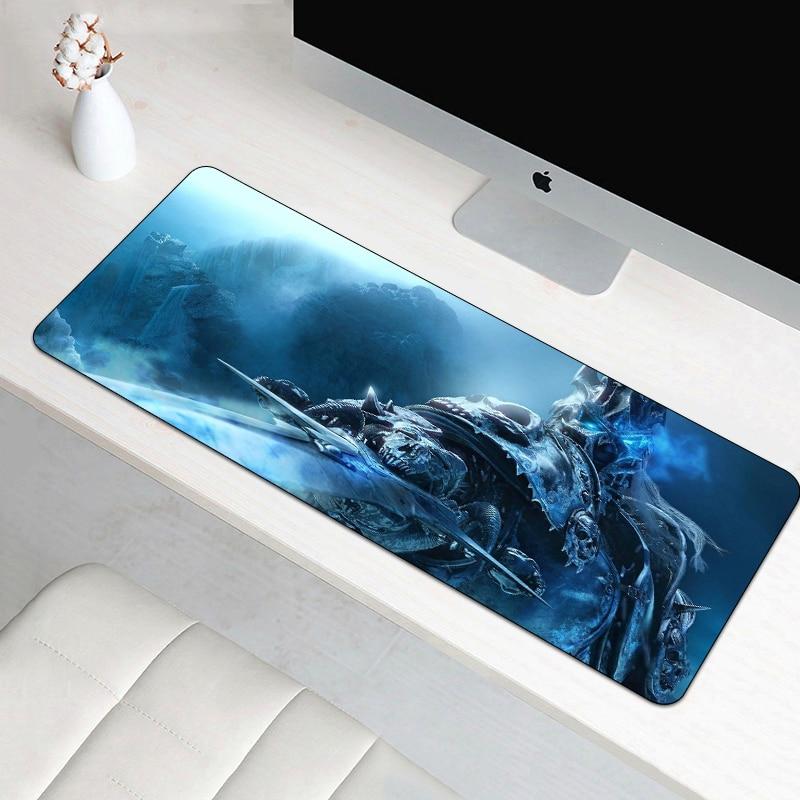 70X30 cm tapis de souris de jeu pour World of Warcraft tapis de souris grand XL mode tapis de souris pour Gamer ordinateur portable en caoutchouc tapis pour ordinateur portable Sylvanas