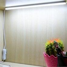 цена на Portable USB LED Night Light 5v USB Cable LED Strip Bar For Power Bank Computer PC Laptop Notebook Desk Reading Lighting Lamp