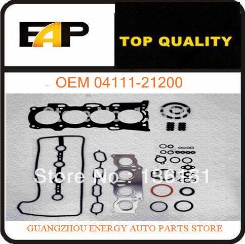 автомобильная двигатель капитальный ремонт прокладка двигатель для fittoyota ярис приус nhw20 vious1nzfxe 04111-21200